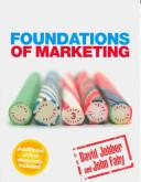 Foundations of Marketing 4th edition