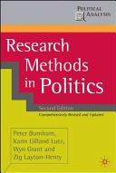Research Methods in Politics second edition