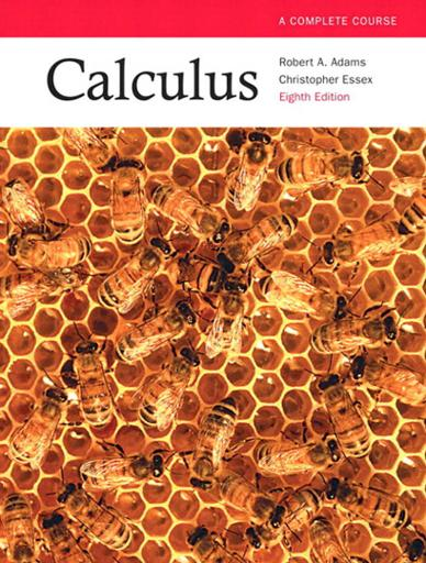 Calculus: A Complete Course + Student Solutions Manual Eight Edition